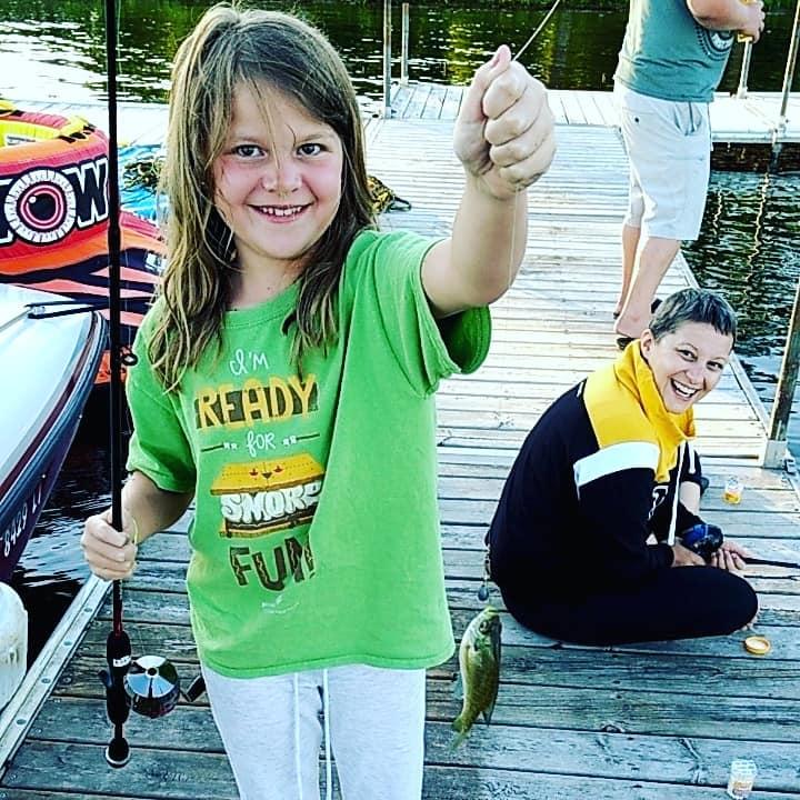 CALLIE FISHING