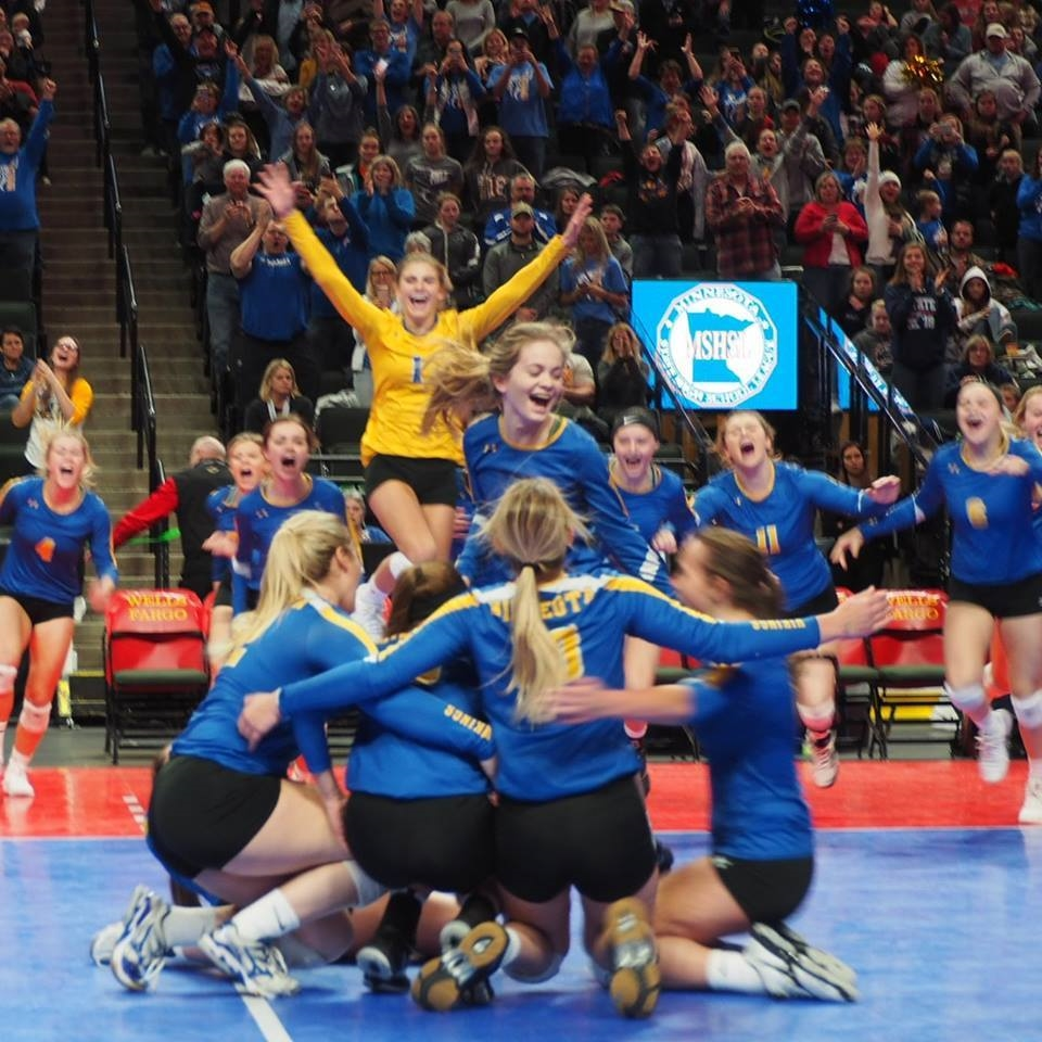 MINNEOTA VOLLEYBALL STATE CHAMPS 2018