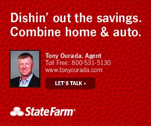Tony Ourada State Farm Ad